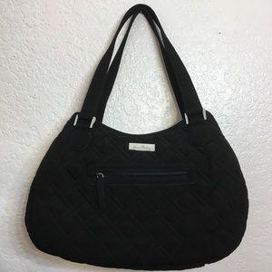 Vera Bradley Black Quilted Handbag